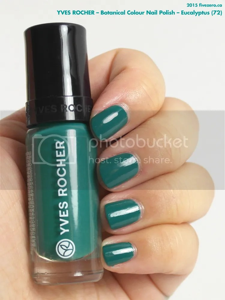 Yves Rocher Botanical Colour Nail Polish in Eucalyptus, swatch