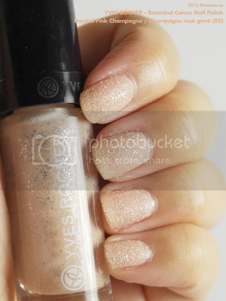 Yves Rocher — Frosted & Pearly Pink Champagne / Champagne rosé givré ...