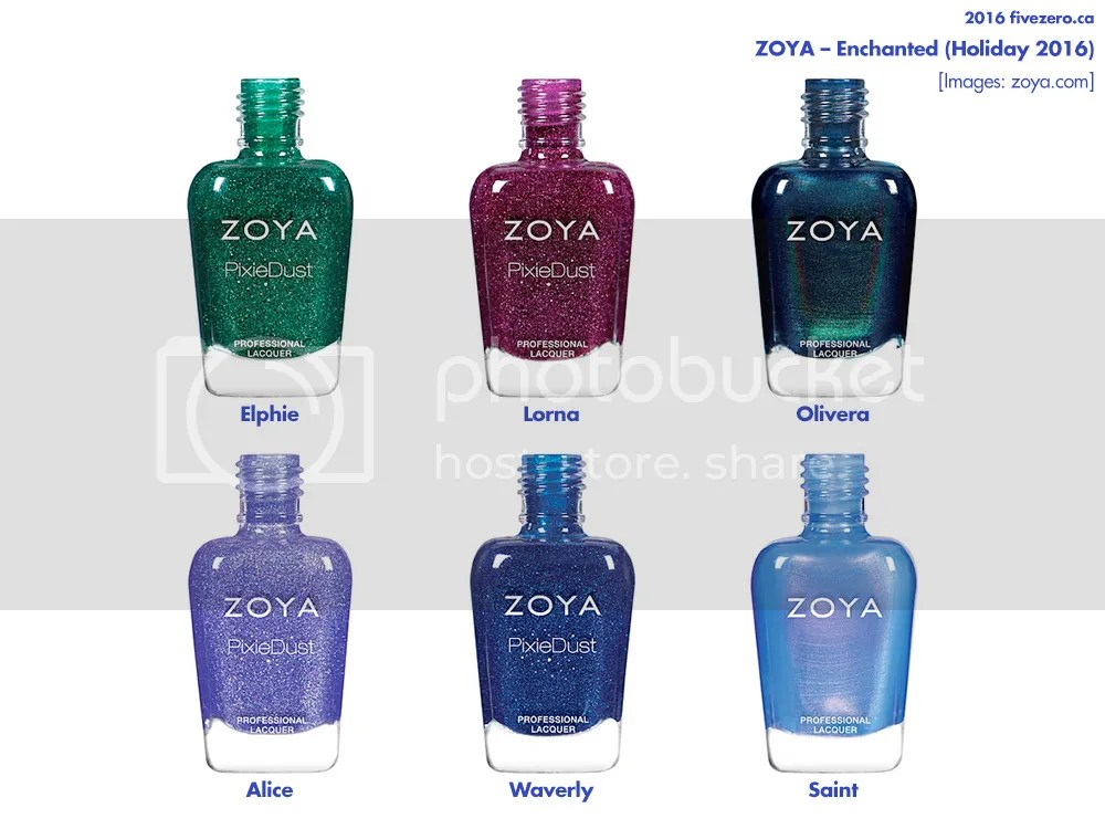 Zoya Enchanted collection Holiday 2016