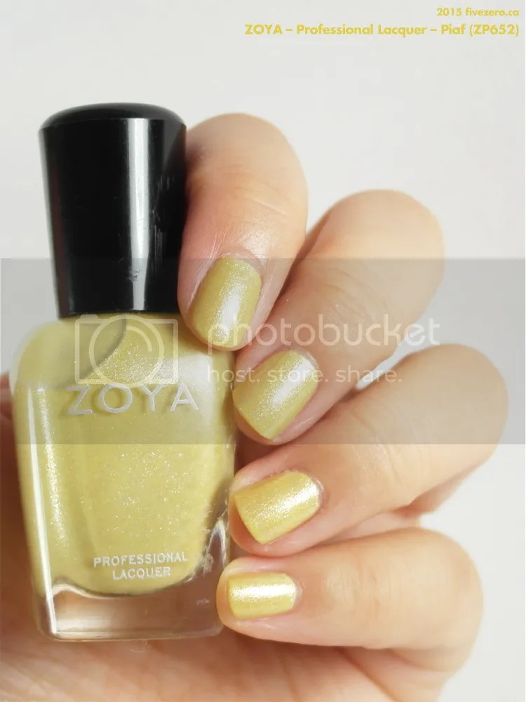 Zoya Professional Lacquer in Piaf, swatch