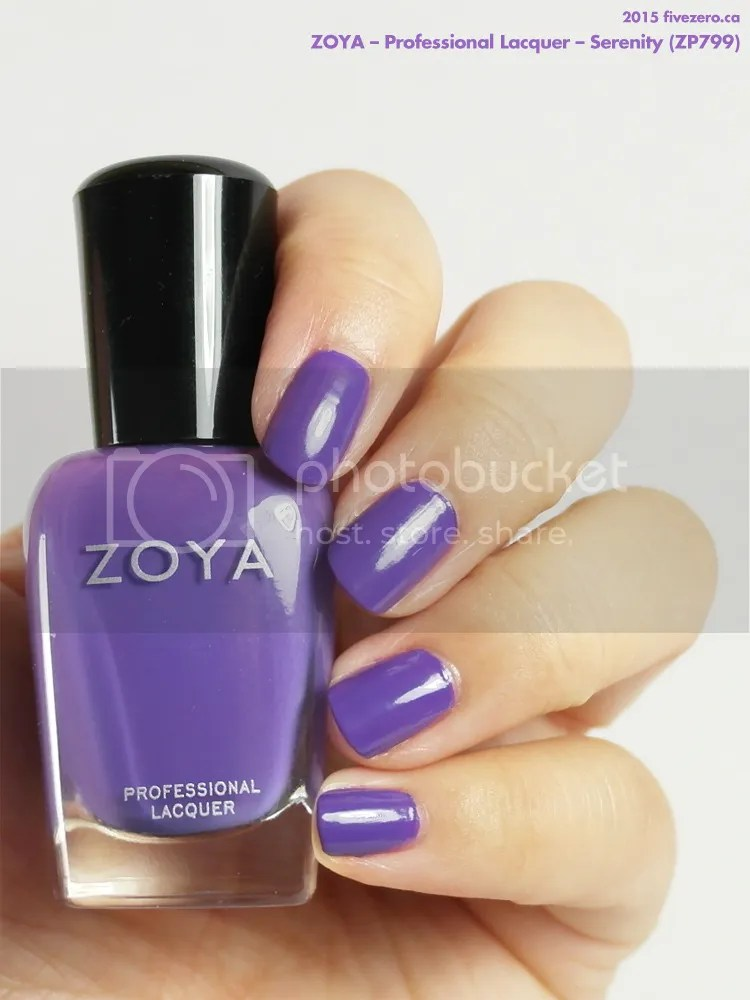 Zoya Professional Lacquer in Serenity, swatch