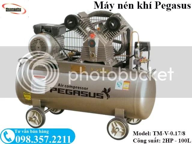 Máy nén khí sửa xe máy Pegasus