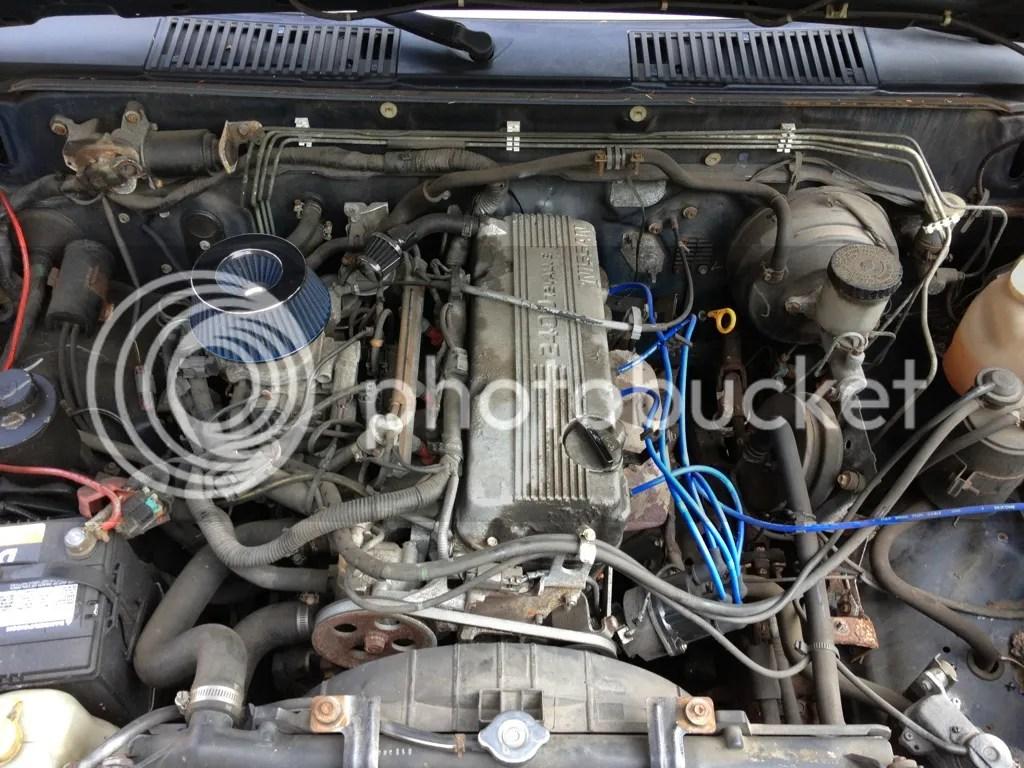 1995 Nissan Pickup Fan Belt Diagram