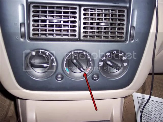 97 Ford Explorer Heater Blend Door