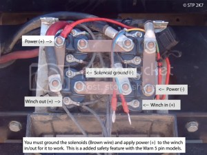 Winch Incab switch wiring diagrams  DIY Modifications & Accessories  myPatrol4x4