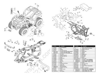 2002 Polaris Sportsman 400 Parts Manual on wiring diagram for a polaris 500 sportsman