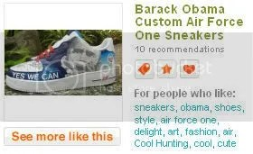 Obama Sneakers Pictures, Images and Photos