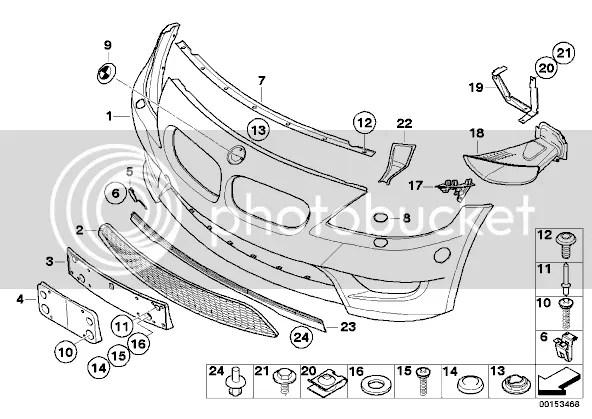 Standard Z4 to Z4M front bumper conversion
