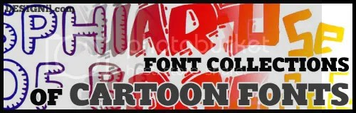 Cartoon Fonts Collection