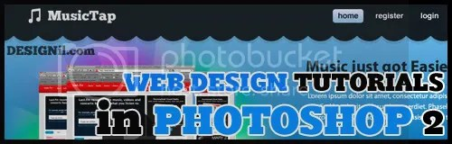 60 Photoshop Webdesign Tutorials