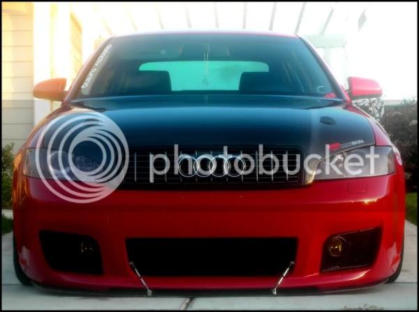 Audi B6 Boser Hood