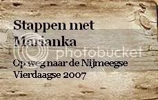 Stappen met Marianka 2007