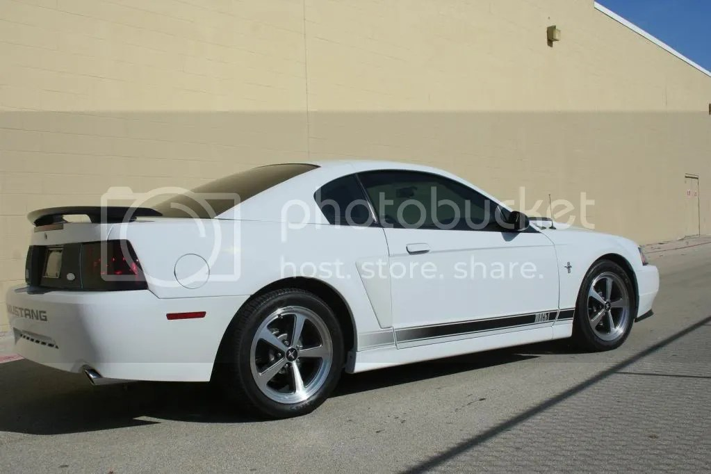 2003 White Mach 1 low mile 8650 very clean  Ford Mustang Forums  Corralnet Mustang Forum