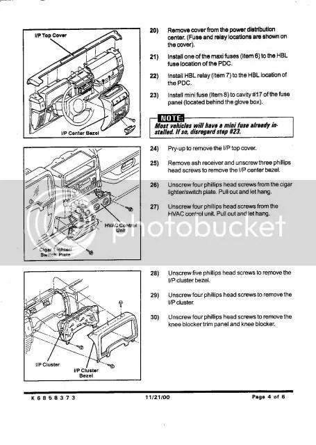 2000 Jeep wrangler hardtop wiring