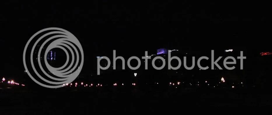 Same shot at night.
