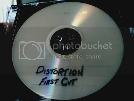 The DVD of the first cut.