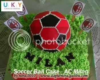 AC Milan Cake