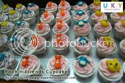 cupcake winnie the pooh bandung