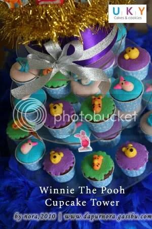 pooh cupcake