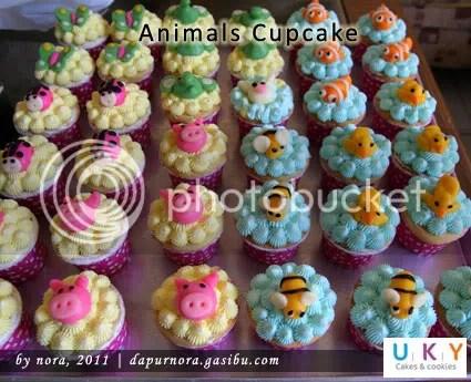 cupcake binatang bandung