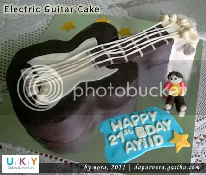 cake gitar listrik