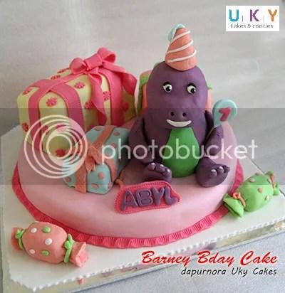Kue ulang tahun barney bandung