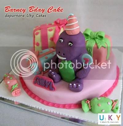 cake barney bandung