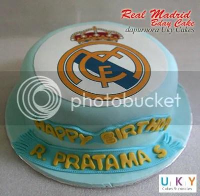 cake real madrid bandung