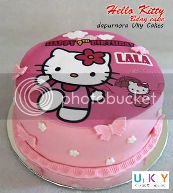 Hello kitty Foto cake bandung