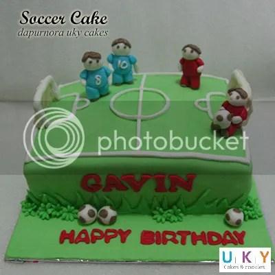 cake sepak bola bandung