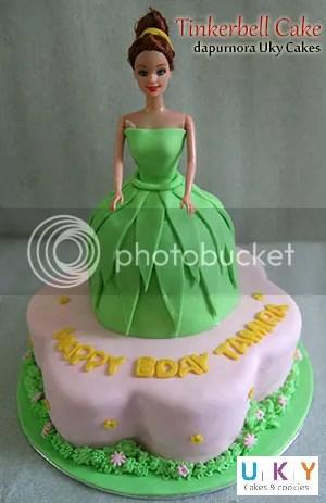 birthday cake tinkerbell bandung