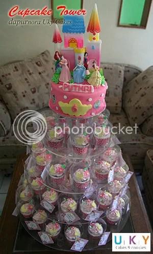 cupcake tower bandung