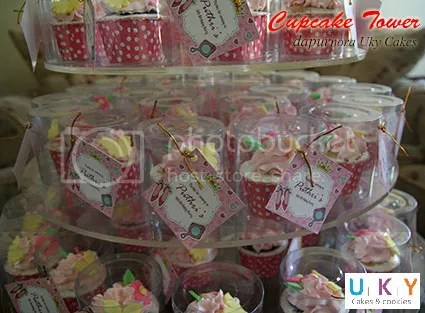 cupcake tower princess bandung