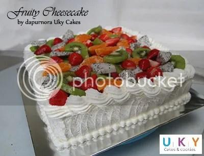 cheesecake buah bandung