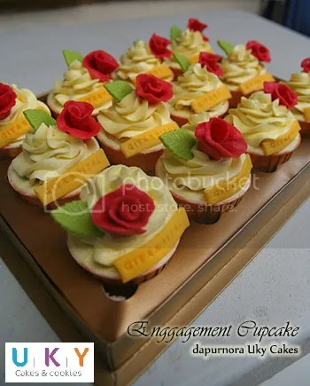 engagement cupcake bandung