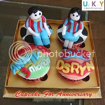 cupcake barcelona FC bandung