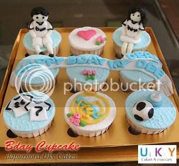 Cupcake real madrid bandung