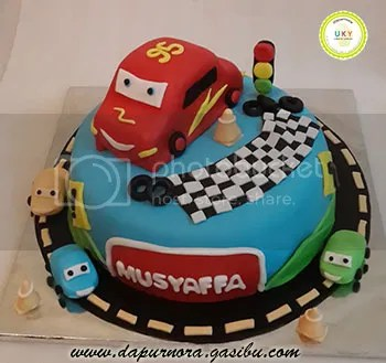 Cars Cake bandung