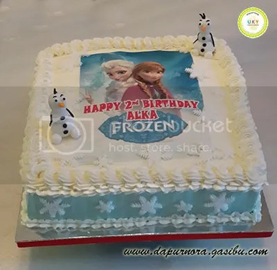 birthday cake frozen bandung