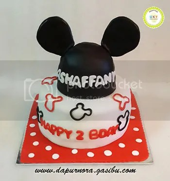 minnie mouse cake bandung