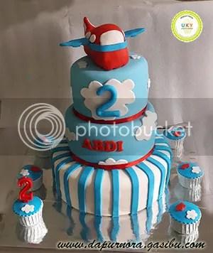 birthday cake plane bandung