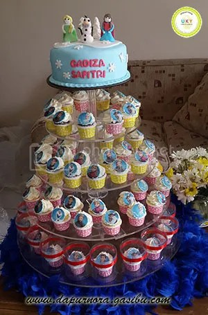 kue ulang tahun frozen