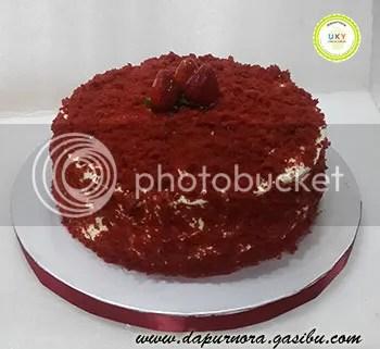 red velvet cake bandung