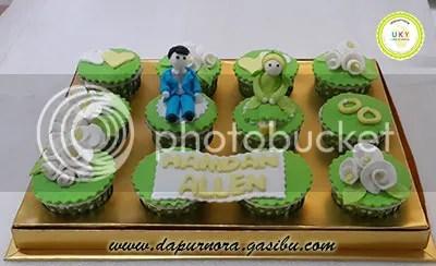 cupcake hadiah pernikahan bandung