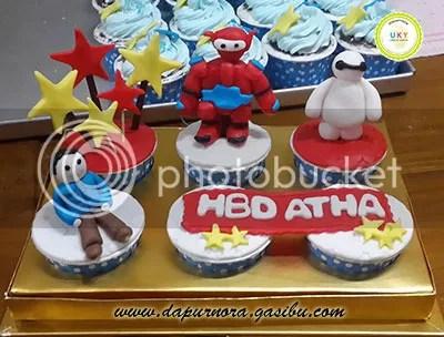 cupcake baymax bandung