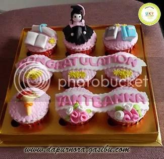 cupcake wisuda bandung