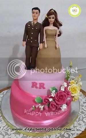 wedding cake polisi bandung