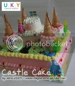 castle cake bandung