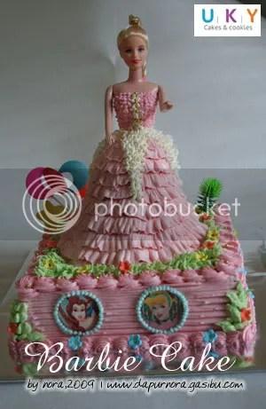 cake barbie bandung