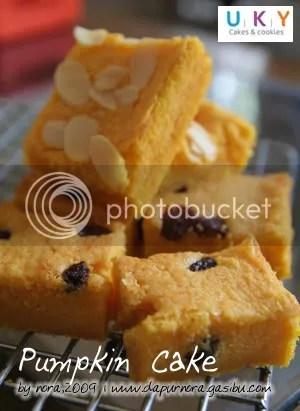 cake labu kuning